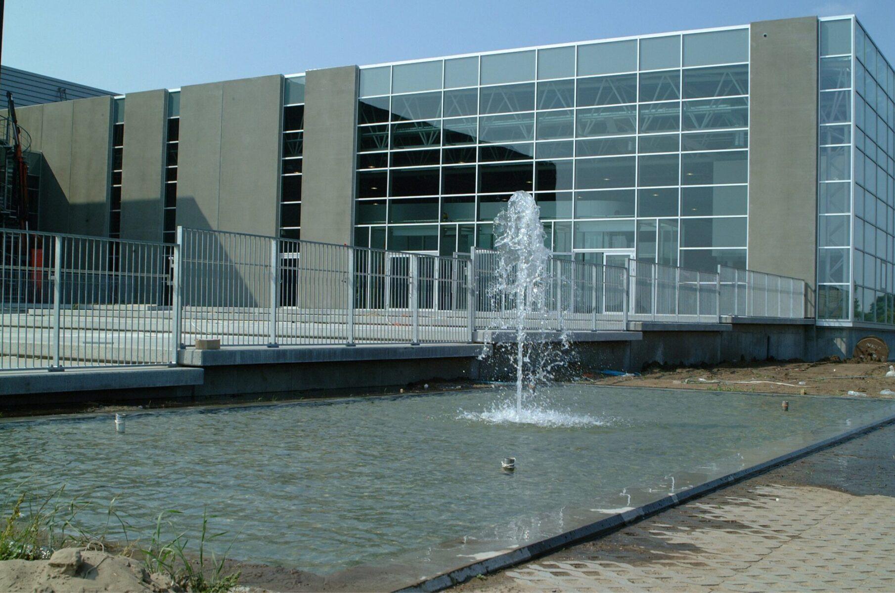 Udendørs springvand